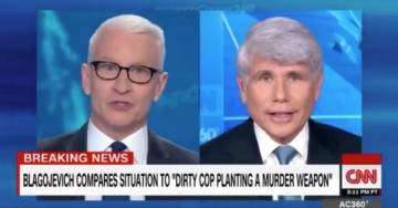 "FIREWORKS! Anderson Cooper Clashes With Blago in Heated Discussion About Corrupt Justice System, ""Bullsh*t!"" (VIDEO)"