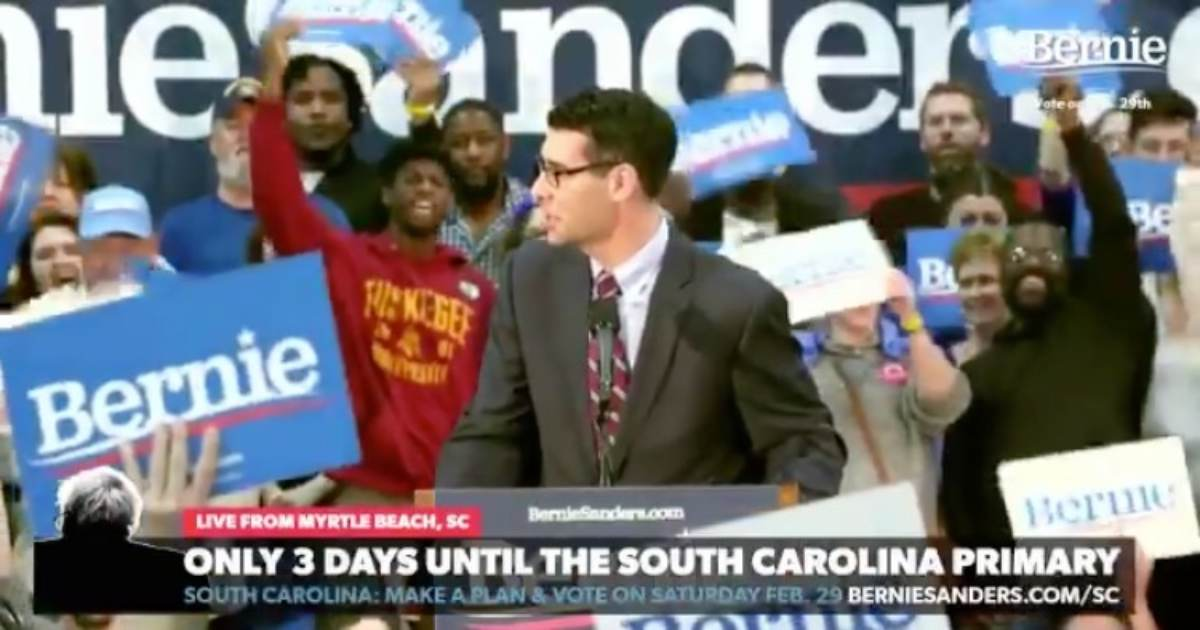 "STUNNING! Bernie Supporters Cheer After Being Called ""Revolutionaries"" and ""Socialists"" by South Carolina Mayor (VIDEO)"