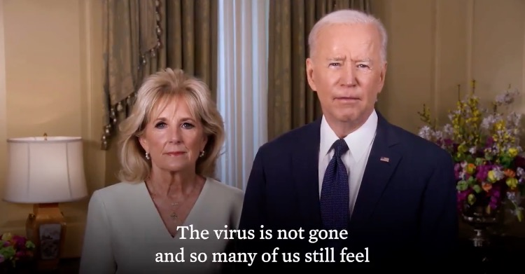 'Devout Catholic' Joe Biden Does Not Mention Jesus Christ at All in His 'Easter' Message - But Mentions Coronavirus 7 Times (VIDEO)