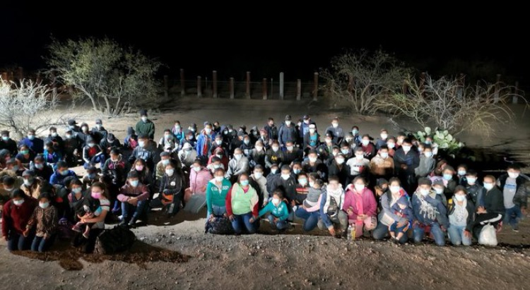 Over 130 Illegal Aliens Surrender to Arizona Border Patrol – Transported to Tucson for Processing