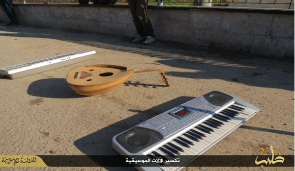 ISIS keyboard guitar