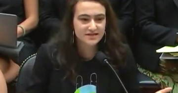 Teen Climate Change Activist Says The World Is Ending So What's The Point Of Studying? (VIDEO)