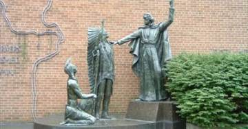 SLU Removes Statue of Jesuit Founder Because He Represents White Supremacy – Will Erect Ferguson Protest Statue (UPDATED)