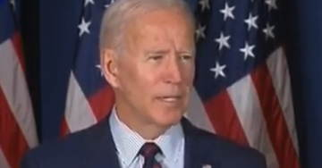 BUFFOON: In May Joe Biden Said China's Not A Threat – Now Says Trump Too Weak On China (VIDEO)