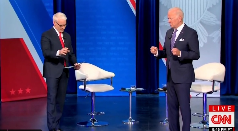 Biden's CNN Town Hall Bombs In The Ratings – Less Than 300K Viewers In Most Important Demo