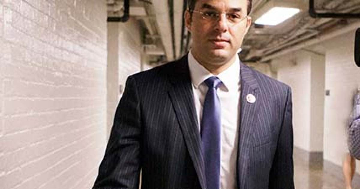 photo image BREAKING: Trump-Bashing Republican Justin Amash Steps Down from Freedom Caucus After Discussion withe Mark Meadows and…