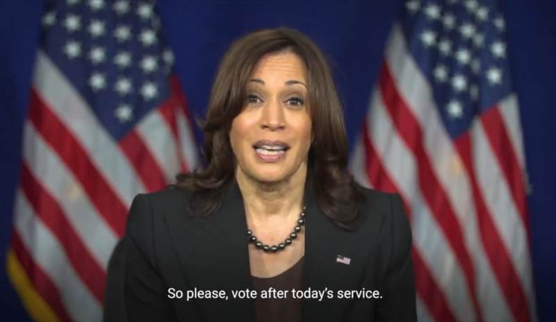Kamala Harris Records Video to Be Played at Over 300 Black Churches Calling on Worshippers to Vote for Democrat Virginia Governor Candidate Terry McAuliffe