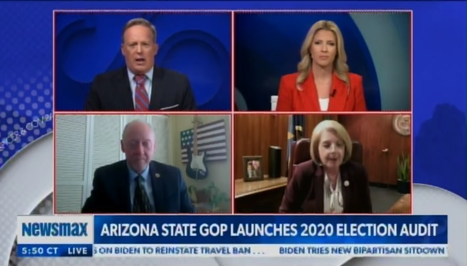 """""""Now I'm Beginning to Wonder Why Would They Not Want to Prove That Their Election System Works?"""" – Karen Fann, President of the Arizona Senate on Maricopa County Supervisors"""