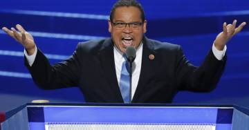 "Keith Ellison Defends Racist, Anti-Semite Louis Farrakhan: ""He Had Something to Offer"" (VIDEO)"