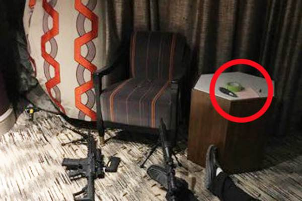 more photos emerge from inside vegas shooter's hotel room