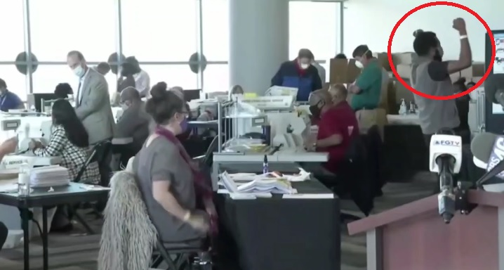 """BREAKING EXCLUSIVE: """"USB Guy"""" Identified as Lawrence Sloan Was Filmed Cheering After Inspecting Bogus Ballots Under Table in Georgia Election Day (thegatewaypundit.com)"""