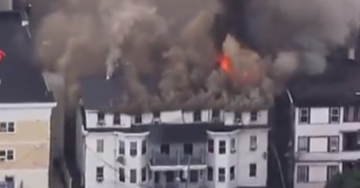 DEVELOPING STORY: Freak Gas Line Explosions Set Off Multiple Fires In Lawrence, MA North Of Boston (VIDEOS)