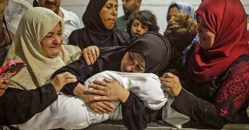 Is It OK to Question Hamas-Supporting Mother Who Brought 8-Month-Old Baby to Rally to Storm Israeli Border?