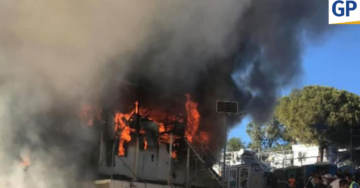 WATCH: Afghan Migrants In Greece Set DEADLY Fire At Migrant Detention Camp