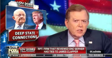Lou Dobbs Shares Gateway Pundit New Flash – Ties Crowdstrike to Atlantic Council and Obama's Director of National Intelligence James Clapper