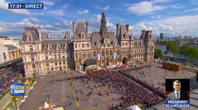 Macron Orders State Television To Disguise Embarrassing Crowd Size – By  Zooming In On Crowd