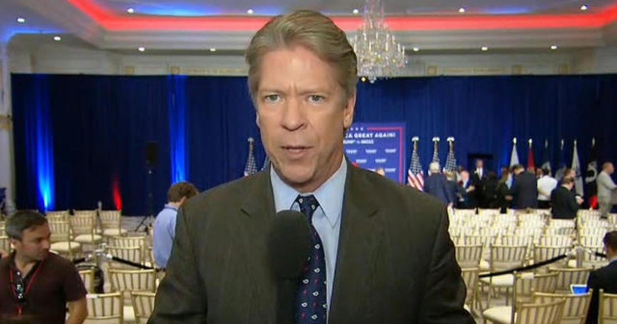 Video  U0026gt Cbs News Reporter Major Garrett Has On Air Tantrum