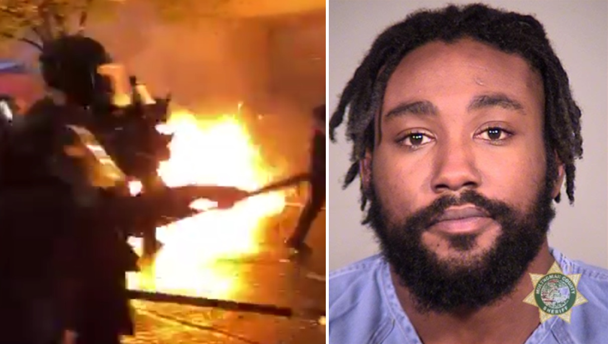 Portland Rioter Indicted On Multiple Attempted Murder Charges After Throwing Molotov Cocktails At Police