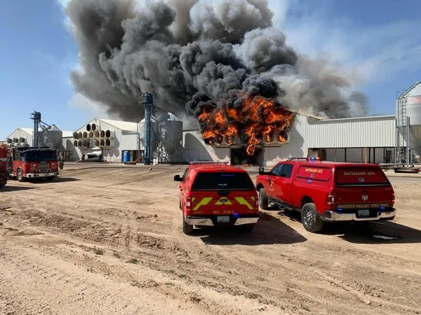 After Finding Shredded Ballots in the Dumpster Earlier Today - A Mysterious Fire Breaks Out at Maricopa County Official's Farm