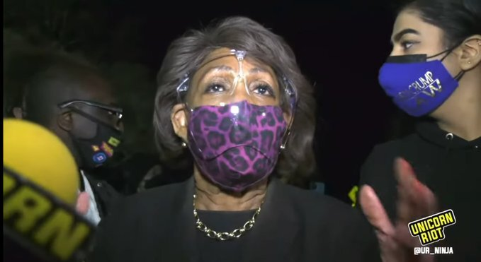 JUST IN: House Democrats Unanimously Vote to Defeat Republican Resolution to Censure Maxine Waters