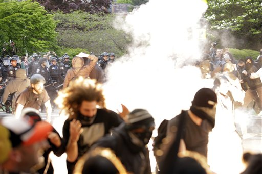 May Day Seattle