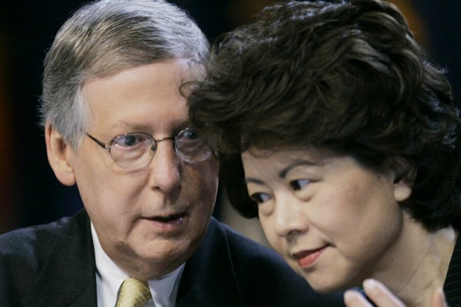 OIG Declined to Take Up Ethics Charges Against Senate Majority Leader McConnell's Wife, Elaine Chao, Despite Democrat Insistence