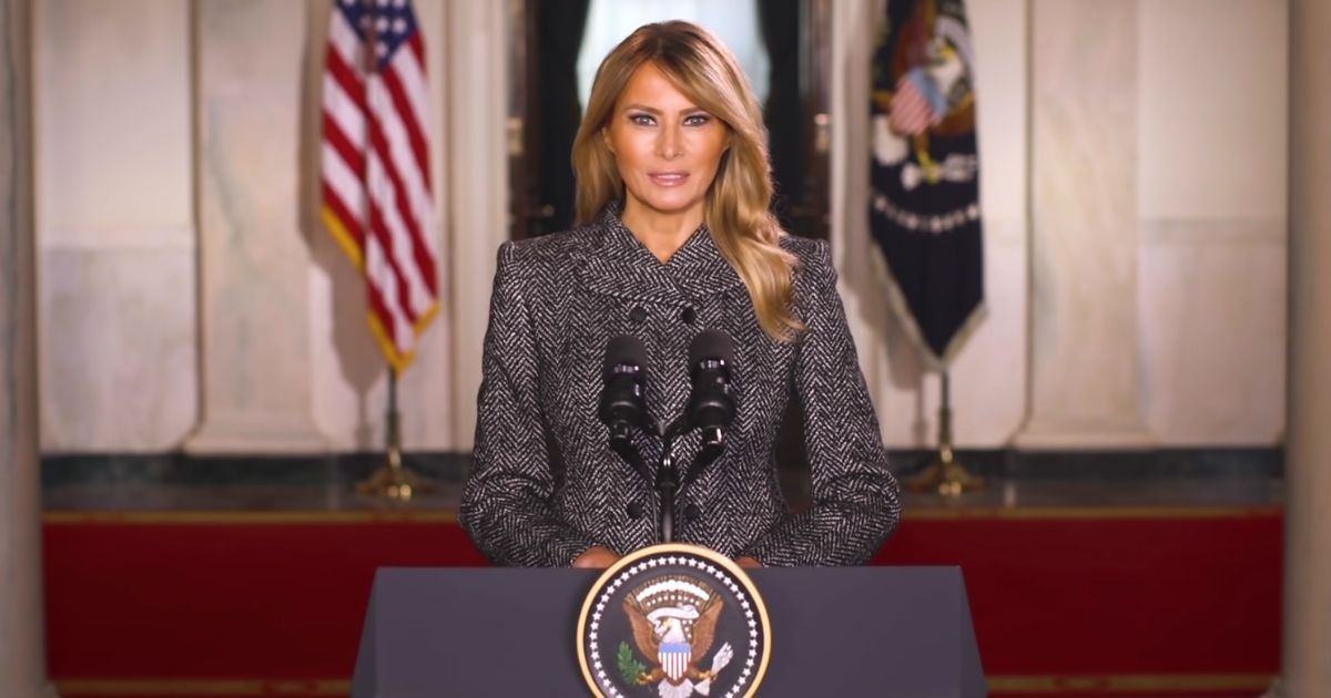 "Sick Liberals Attack Melania After Launch Of New ""Office Of Melania Trump"""