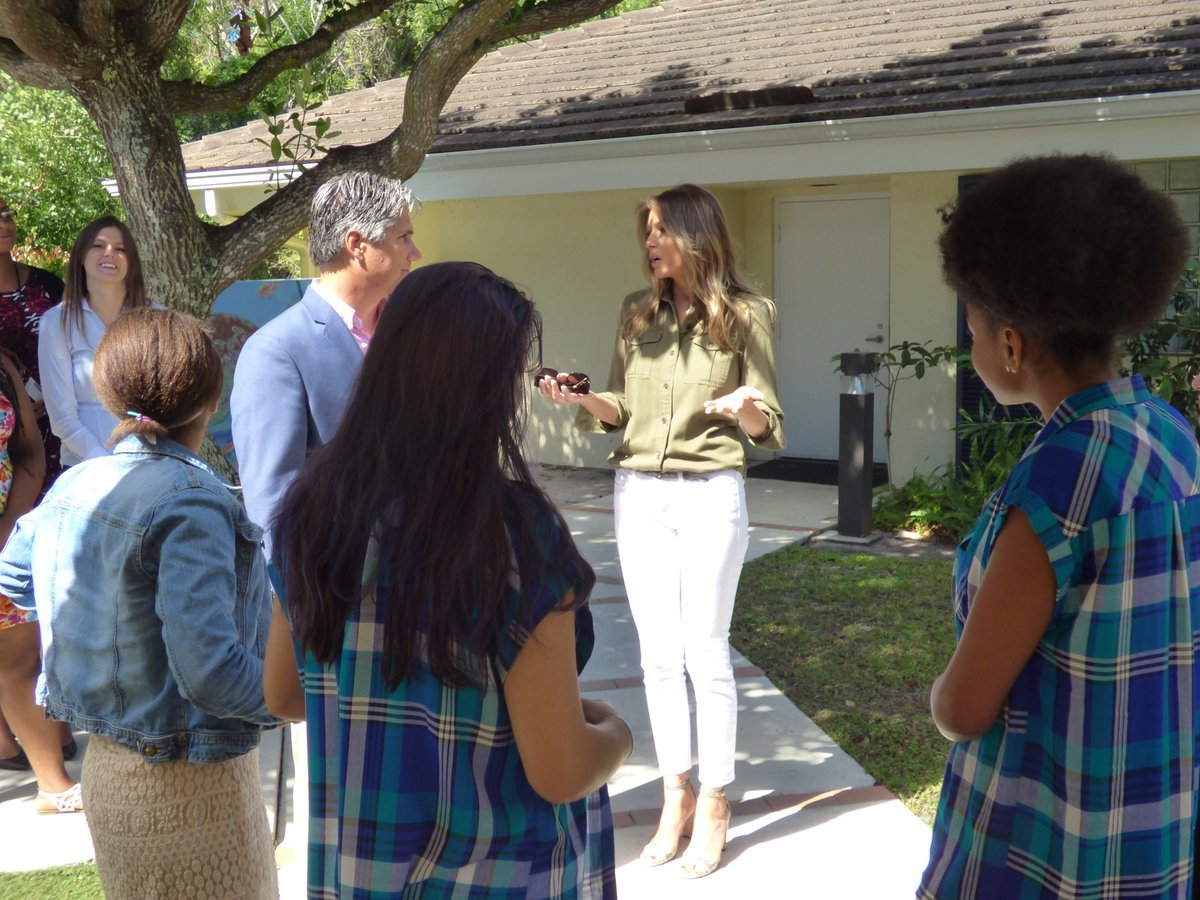 MEDIA BLACKOUT: First Lady Melania Trump's Visit to Home for Abused Girls Goes Unreported