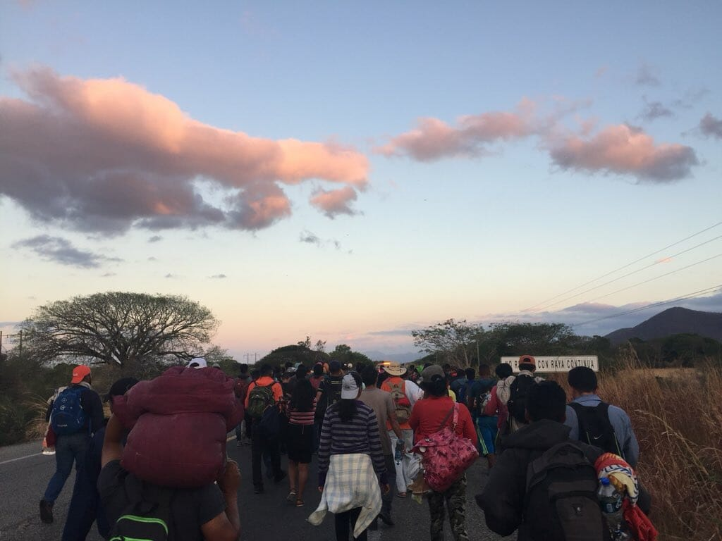 Figures: Caravan Organizers Vow to Continue March to US Border, Plan Crossing from Baja California