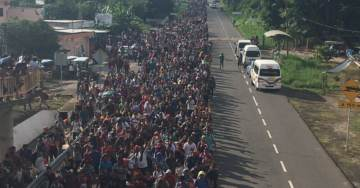 "Illegal Aliens Chant ""Si Se Puede!"" as Caravan of Invaders Swells to 14,000"