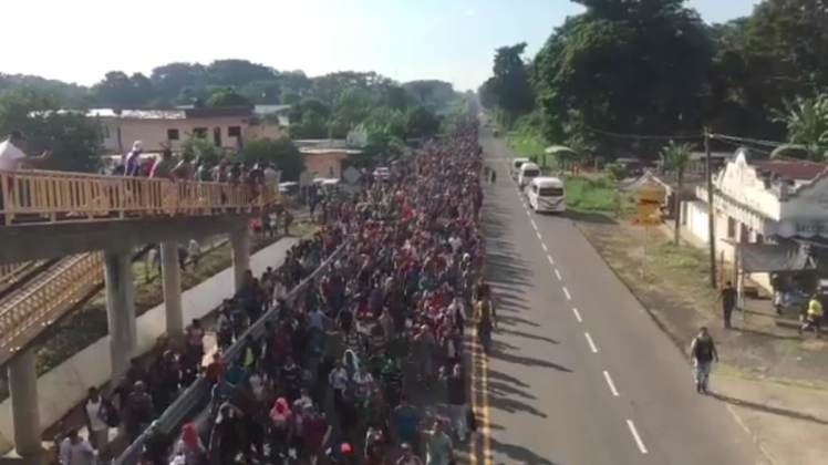 """NATIONAL EMERGENCY"" President Trump Announces He Will Begin Cutting Off Central American Aid as Migrant Caravan Marches to U.S."