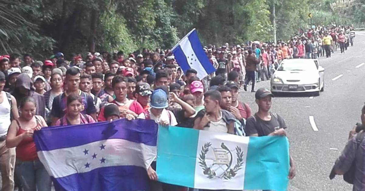 Another Caravan Forming in Honduras – Headed Northbound to US 'Next Week'