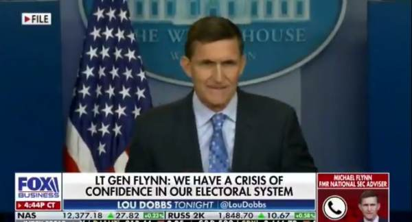 Gen. Flynn: Election Witness in ICU, Other Witnesses Had Tires Slashed, House Broken Into Twice