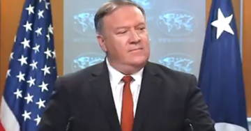 Secretary Of State Mike Pompeo Blasts John Kerry On Iran Meetings: 'Unseemly And Unprecedented' (VIDEO)