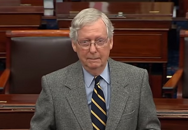 Mitch McConnell Proposes Postponing Impeachment Trial Until February to Keep Trump Under His Thumb