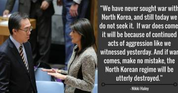 Video: Amb. Nikki Haley Calls Out China, Warns North Korea of War to Stop Nuclear Weapons Threat