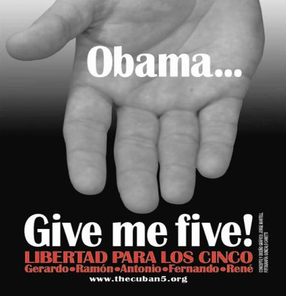 Obama Give Me Five Cuban Five