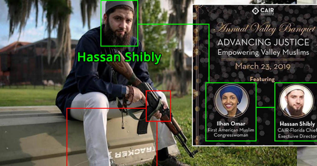 ilhan omar claims  u0026quot every day u0026quot  500 people die from guns yet she hangs out with cair gun