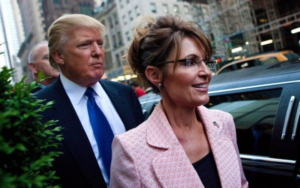 GOOD CALL: Sarah Palin Urges Donald Trump To Get America Out Of The United Nations