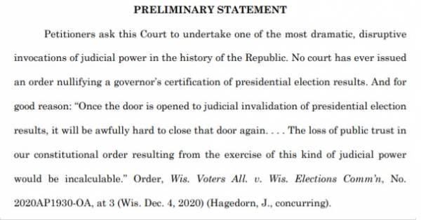 BREAKING: Pennsylvania Dems Respond to Justice Alito Arguing – Despite Historically Rampant Election Fraud Don't Do Anything Because No One Else Ever Has 2