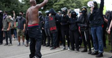Portland Police Arrest 13, All Antifa; Confiscate Weapons, Bear Mace. Protests Wrap Up