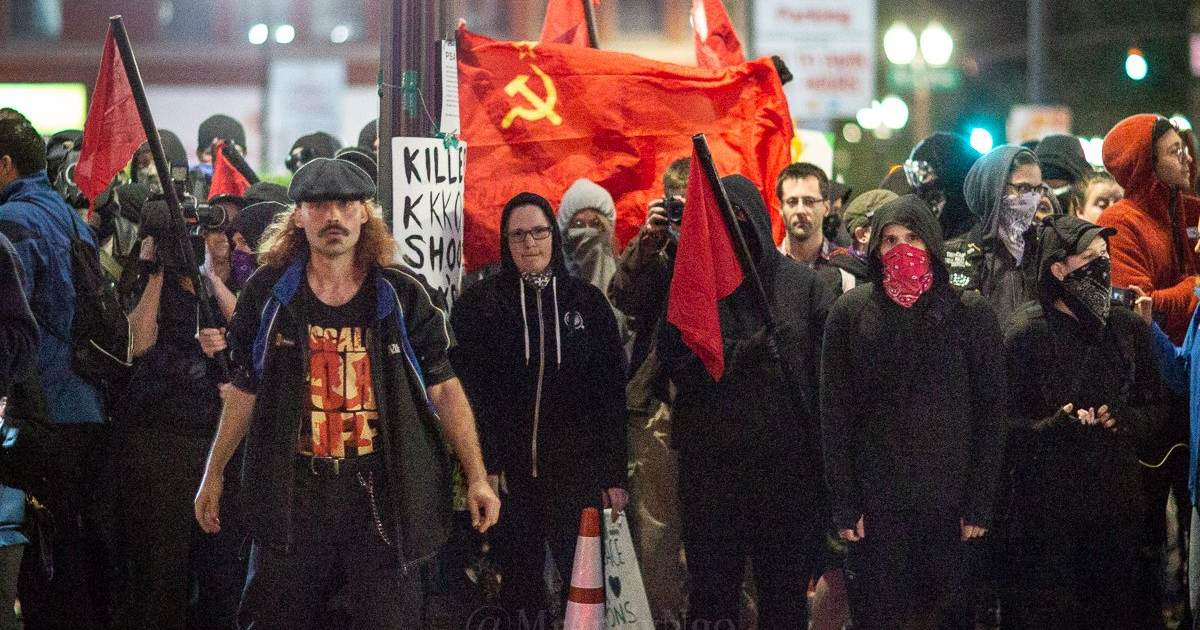 Portland Anarchists Jam Water Hose In Mail Slot – Flood Lawyer's Office Representing I.C.E. Employees
