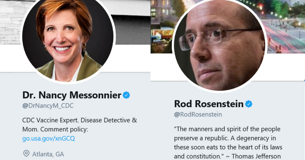 Just Like Her Corrupt Brother Rod Rosenstein — The CDC's Dr. Nancy Messonnier, Drops a Bomb on President Trump While On International Trip