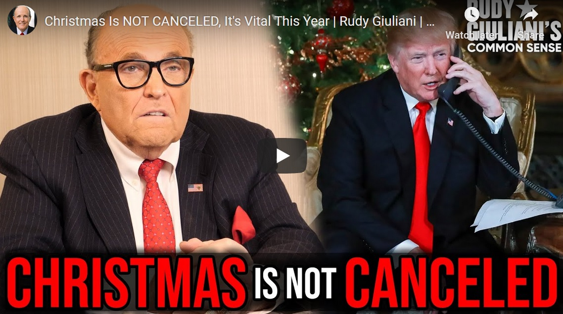 """Rudy Giuliani: """"Starting After Christmas This Is Really Going to Blow Up"""""""