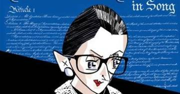 """""""She Looked Quite Glam"""": Justice Ruth Bader Ginsburg Makes First Public Appearance Since Cancer Surgery: Attends Concert Celebrating Herself"""