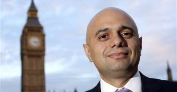 REPORT: Britain's New Muslim Home Secretary Sajid Javid Behind Tommy Robinson Transfer to Dangerous Prison