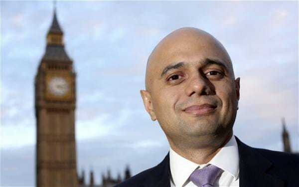 photo image REPORT: Britain's New Muslim Home Secretary Sajid Javid Behind Tommy Robinson Transfer to Dangerous Prison