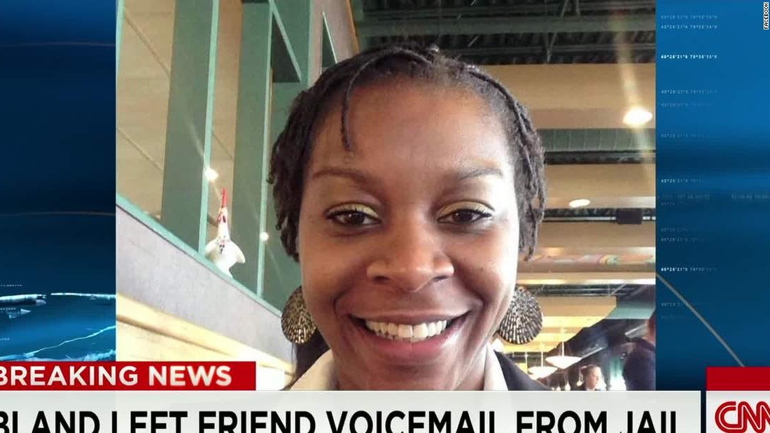 Sandra Bland CNN screen grab