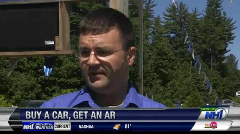 Auto Dealer Offers FREE AR15 With Car Purchase