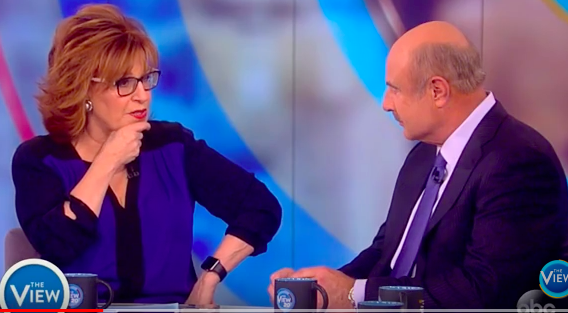Joy Behar PLEADS With Dr. Phil To Label President Trump A Narcissist! (Video)